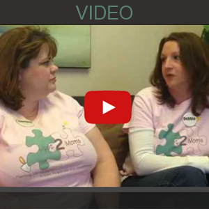 "Autism Awareness, "" Just 2 Moms"" Make a Difference"