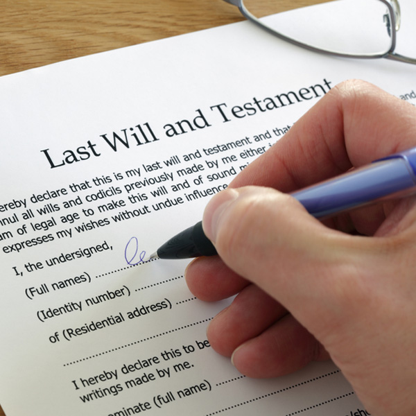 The Language of Wills