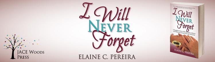 I will never forget Elaine C.Pereira