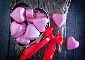 "Say ""I Love You'"" With Dark Chocolate"