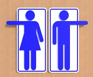 Public Restrooms  The Good.  The Bad.  And the Phew!