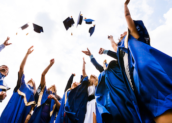 Caps Off to the Graduate!